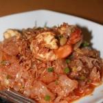 Essen in Thailand (II) – Entdeckung des Pomelo-Salat