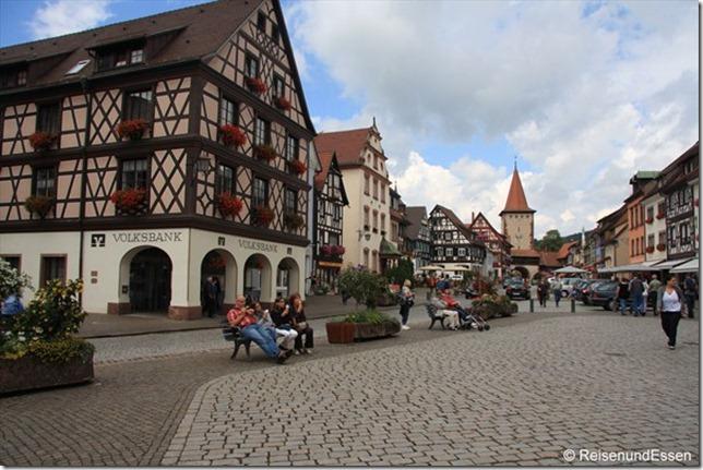 Gengenbach - Marktplatz
