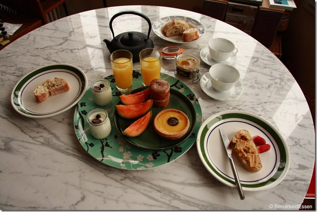 Frühstück in Paris (Tag 2)