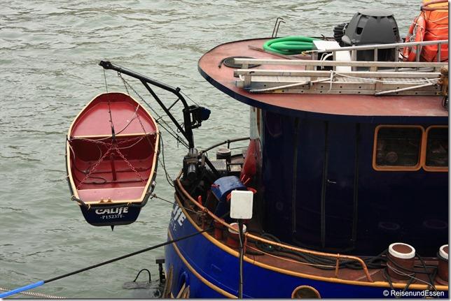 Boot an der Seine