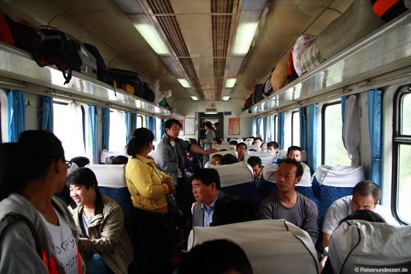 Im Hard Seater (Taiyuan nach Pingyao)