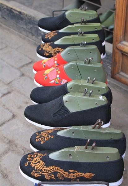Pingyao - Schuhe - alter Stil
