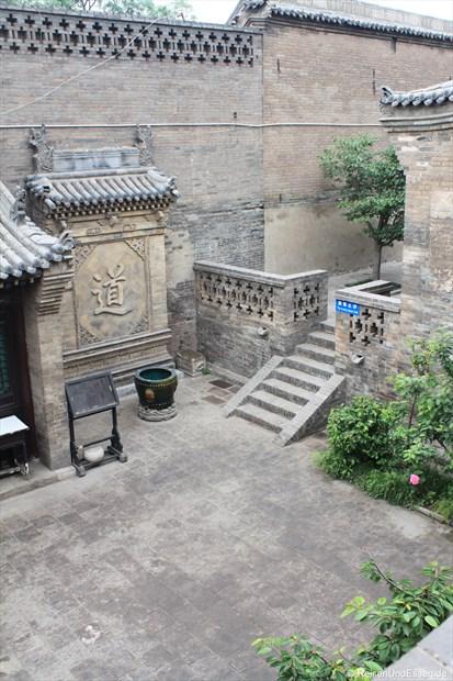 Pingyao - Innenhof eines Tempels