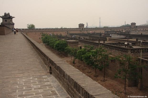 Pingyao - Stadtmauer