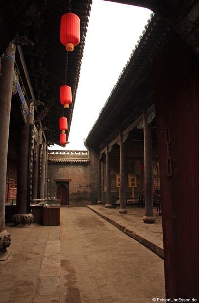 Pingyao - Im Innenhof eines Tempels