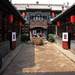 Die Innenhöfe in der Altstadt von Pingyao