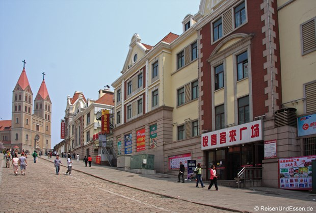 Qingdao - katholische Kirche