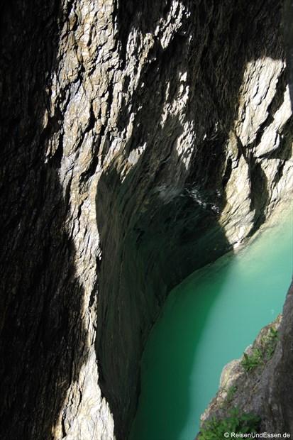 Schweiz - Viamala (Blick auf den Rhein)