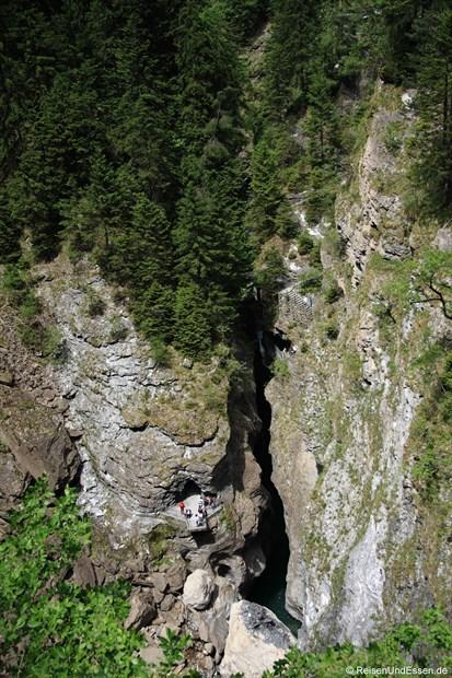 Schweiz - Blick in die Viamala
