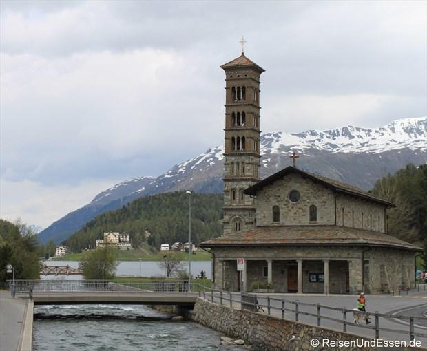 St. Moritz Bad - Kirche San Karl