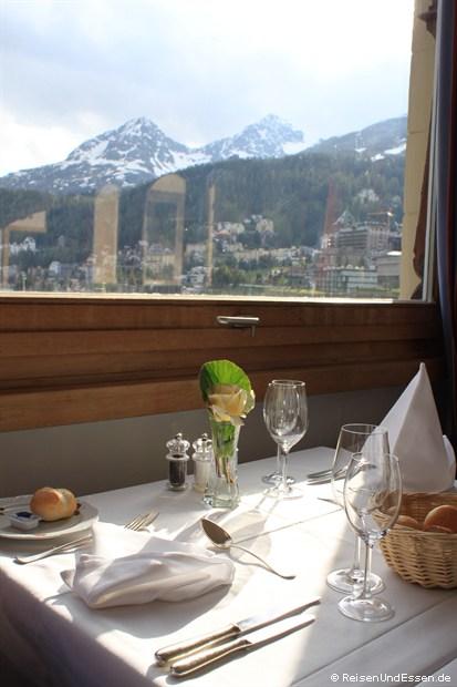 Hotelrestaurant mit Aussicht