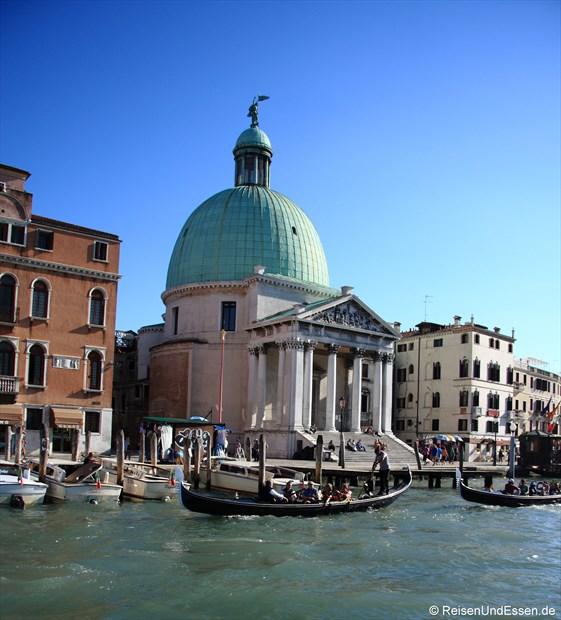 Canale Grande mit San Simeon Piccolo