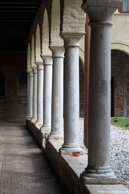 Innenhof im Kloster