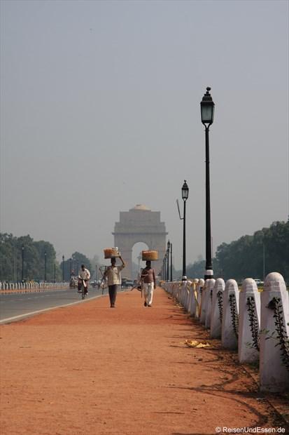 Auf dem Weg zum India Gate