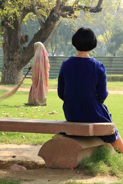 Begegnungen im Park
