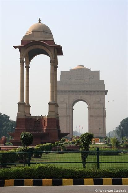 Delhi - India Gate (Rückseite)