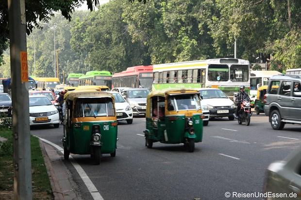 Verkehr in Delhi