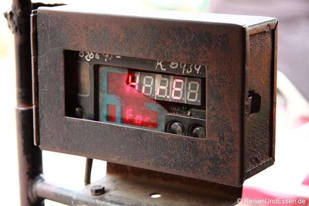 Taxometer in Tuk Tuk