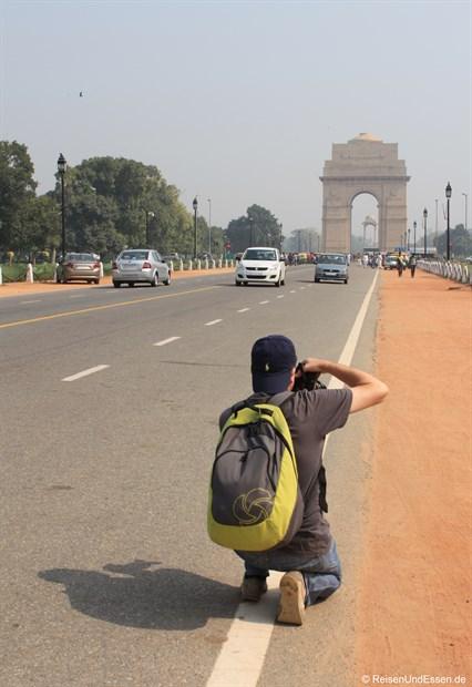 In Delhi auf Motivsuche