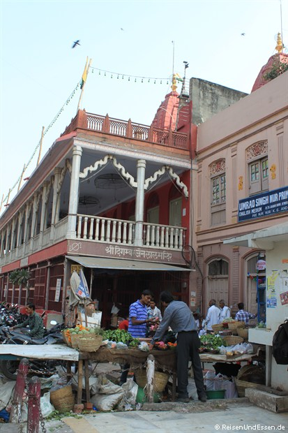 Gemüsestand in Old Delhi