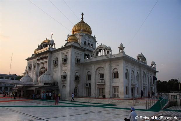 Im Sikh-Tempel in Delhi