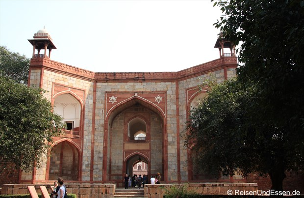 Tor zum Humayun Mausoleum