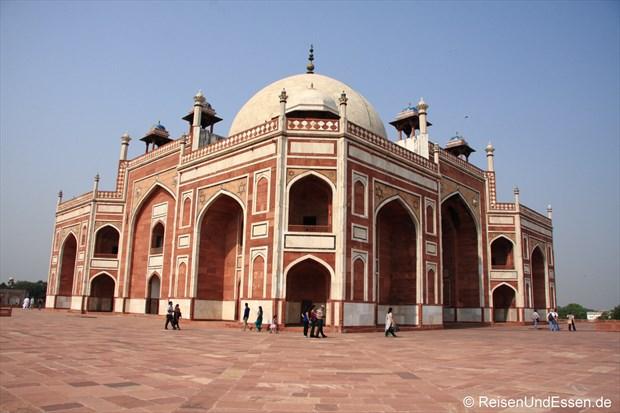 Auf der oberen Ebene des Humayun Mausoleum