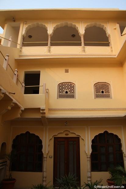 Samode Haveli - Einer der Innenhöfe