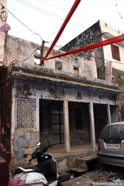 Haus in der Altstadt von Jaipur
