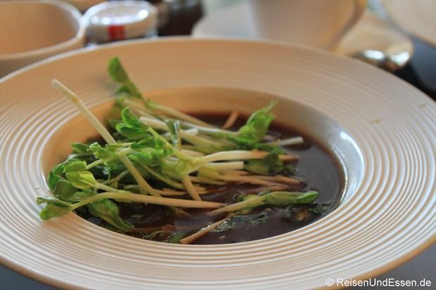 Miso Suppe mit Gemüse