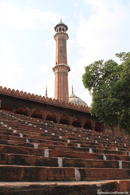 Stufen zur Jama Masjid