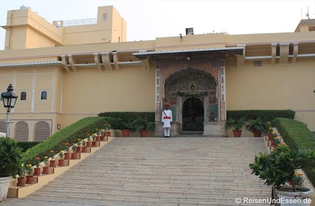 Samode Haveli - Eingang in den ehemaligen Palast
