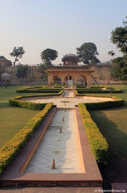 Garten beim Fort Amber