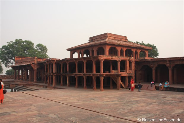 Im Palast von Fatehpur Sikri