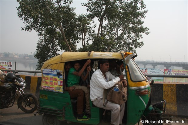 Tuk Tuk in Agra
