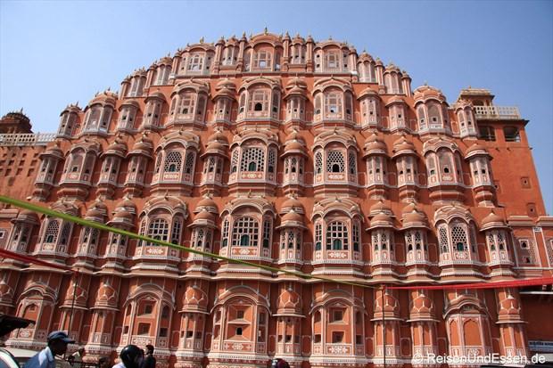 observatorium und stadtpalast mit palast der winde in jaipur. Black Bedroom Furniture Sets. Home Design Ideas