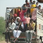 Fahrt von Jaipur Richtung Agra mit Zwischenstopp in Bharatpur
