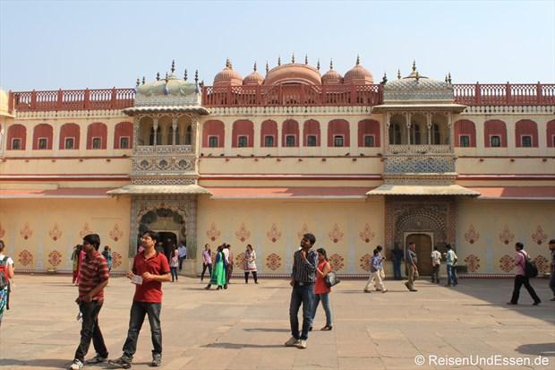 Innenhof im Stadtpalast von Jaipur
