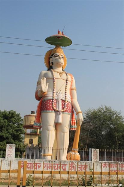 Hanuman, der Affengott der Hindu