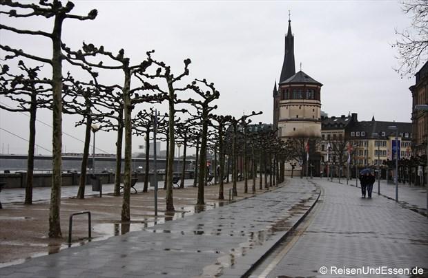 An der Rheinuferpromenade