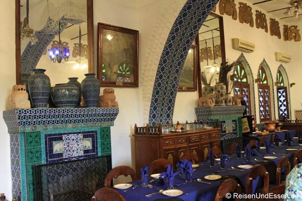 Restaurant im Hotel Bundel Khand Riverside