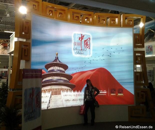 Stand von China auf der ITB 2014