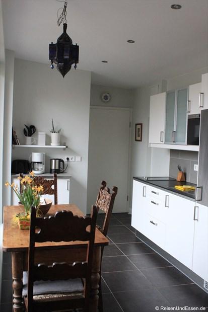 Küchenzeile in unserer Ferienwohnung in Berlin