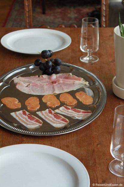 Essen in unserer Ferienwohnung in Berlin