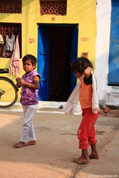 Kinder in Khajuraho