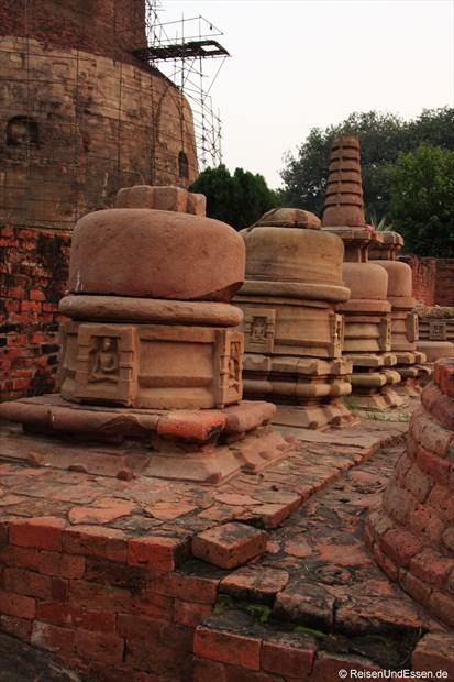 Ausgrabungen in Sarnath