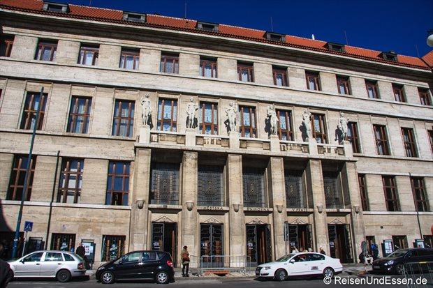 Gebäude in Prag