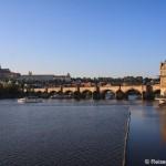 Stadtrundgang durch das sonnige Prag und Begegnung mit Darth Vader