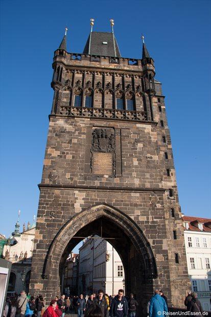 Tor auf der Karlsbrücke