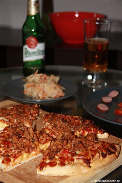 Abendessen in Prag